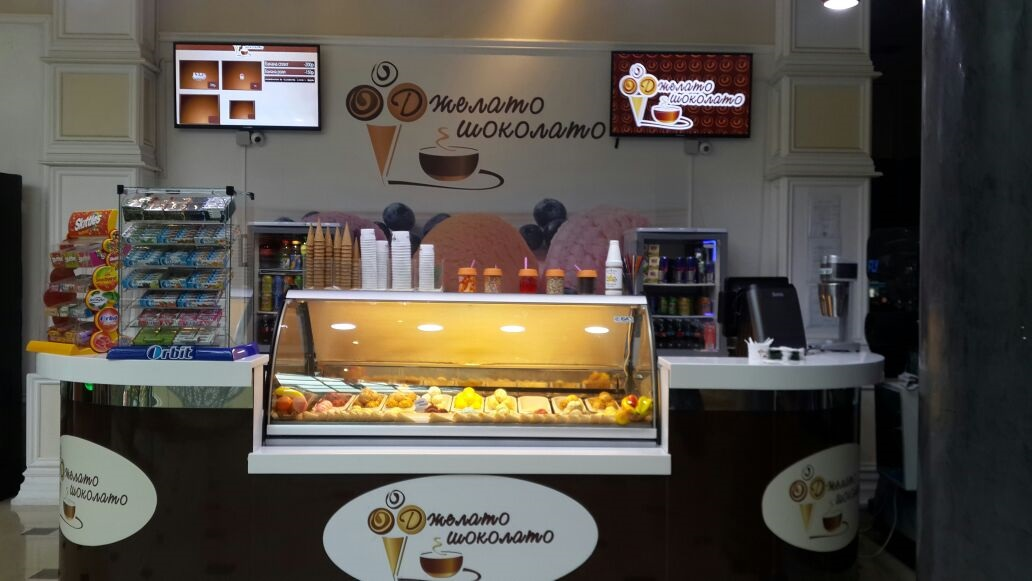 Кафе Джелато Шоколато