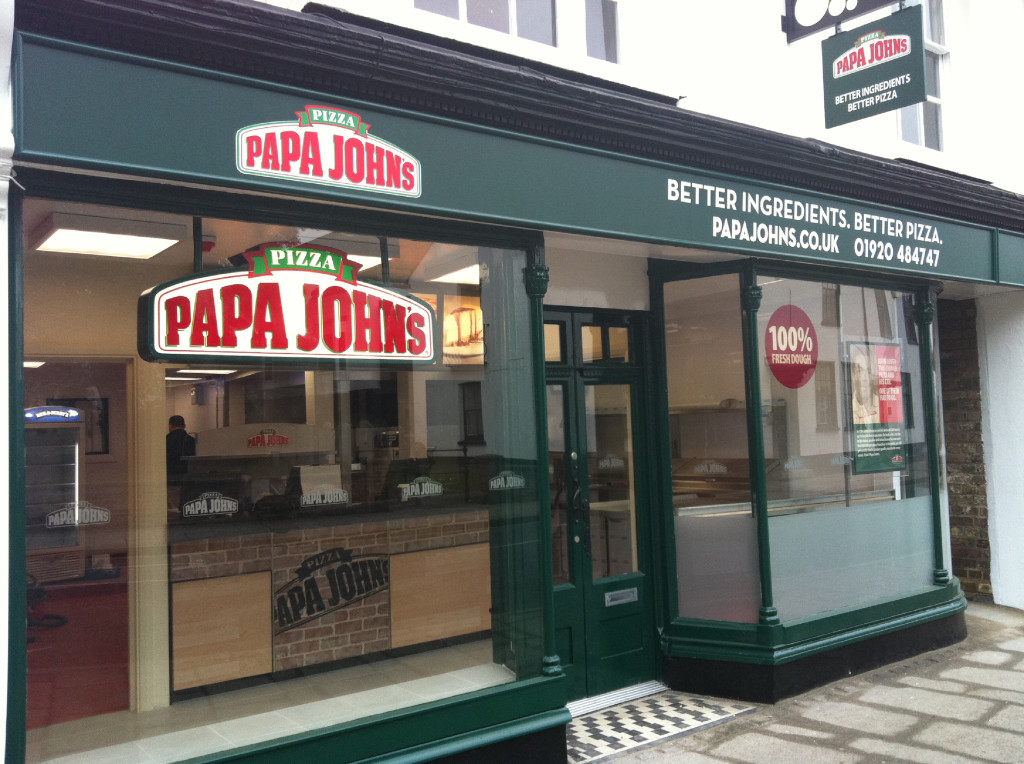 Пиццерия Papa John's