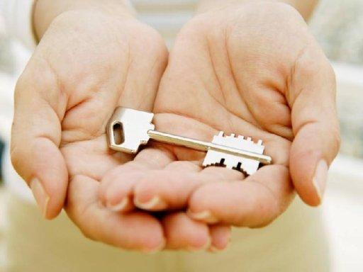 Ключ в ладошках