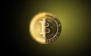 Логотип биткоин