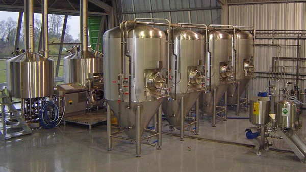 Помещение пивоварни