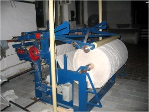 Перемоточный станок для изготовления туалетной бумаги