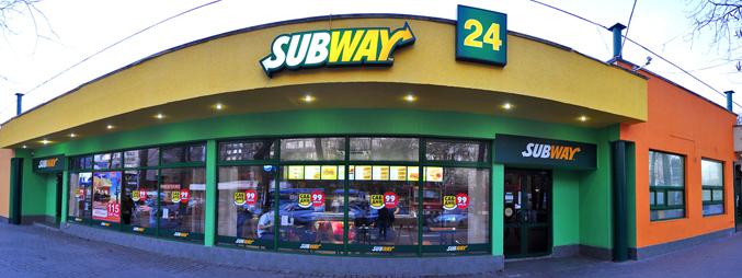 Торговая точка Subway