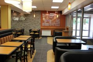 Ресторан Subway изнутри
