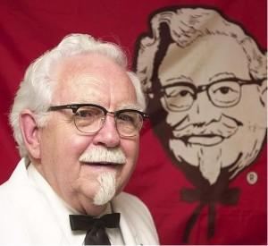 Дэвис Харланд - создатель KFC