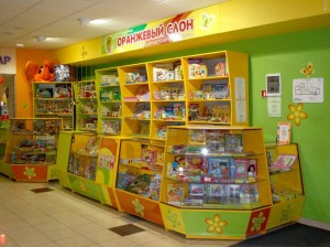 """Магазин """"Оранжевый слон"""" изнутри"""