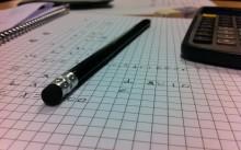 Ручка с калькулятором