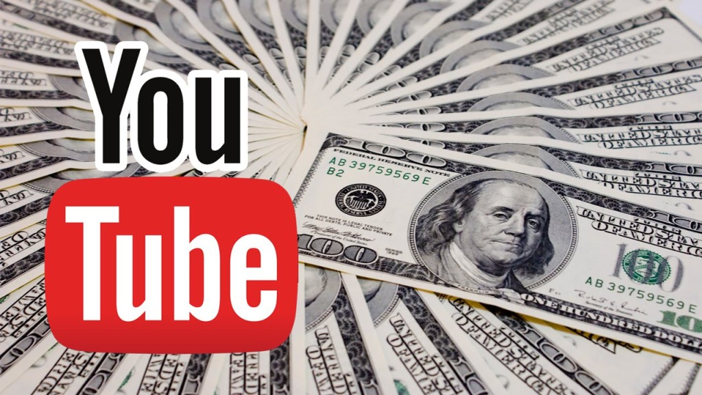 Логотип Ютуб и деньги