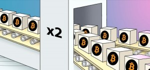 Удваивание биткоинов