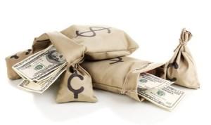 Деньги в мешке