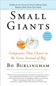 Книга «Small Giants Companies That Choose to Be Great Instead of Big»