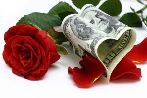 Деньги и цветы