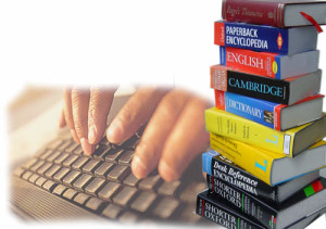 Клавиатура и книги