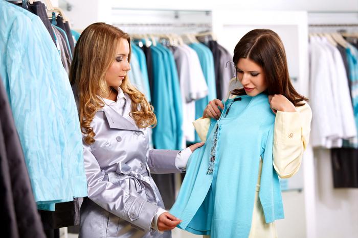 Женщины в магазине