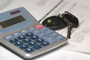 Калькулятор и ключи от машины