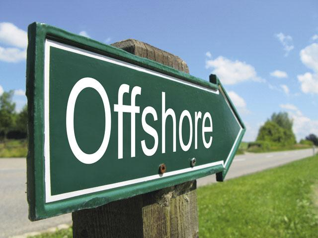 "Табличка ""Offshore"""