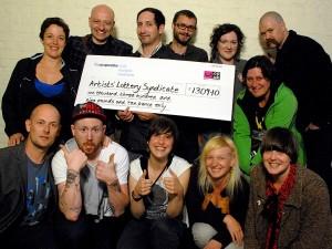 Группа победителей лотереи