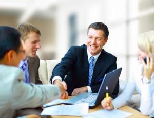 Совещание бизнесменов