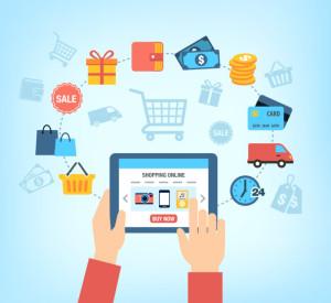 Схема покупки в интернет-магазине