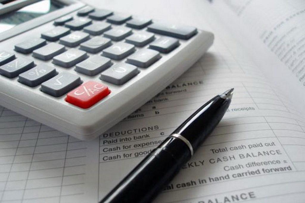 Калькулятор и ручка
